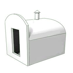 Piwnica ogrodowa typu LOCH - mała